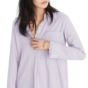 Madewell Classic Ex-Boyfriend Button Back Shirt